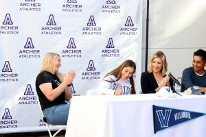 Signed, sealed, delivered: Senior Andrea Campos-Ralston signs letter of intent, commits to play Division I volleyball