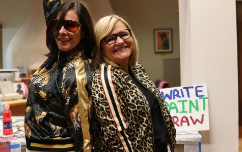 Teachers go wild in new Ferocious Friday tradition