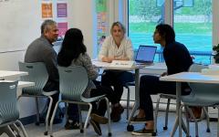 Parent conferences prompt communication among parents, students, teachers