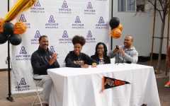 'I will never forget this': Nia Mosby signs letter of intent to run Division I track and field