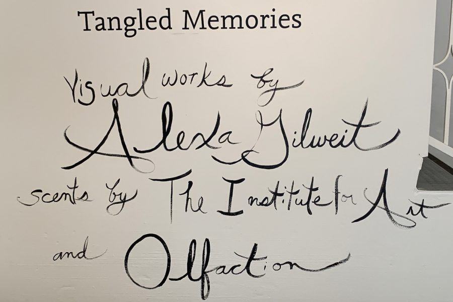 The Eastern Star Gallery show, Tangled Memories, opened at the end of February. The exhibit combines scents and paintings to showcase memories that Americans have.