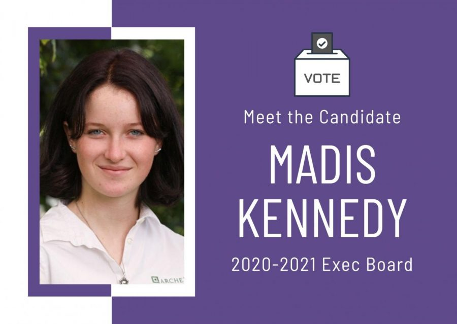 Meet the Candidate: Madis Kennedy '21