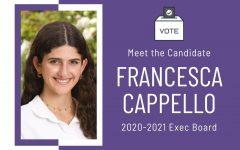 Meet the Candidate: Francesca Cappello '21