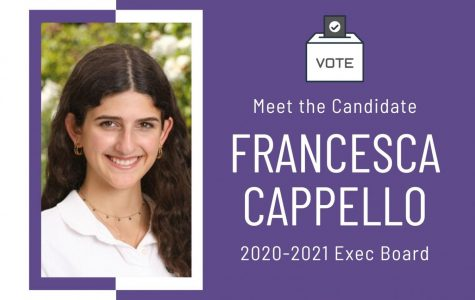 Meet the Candidate: Francesca Cappello '21
