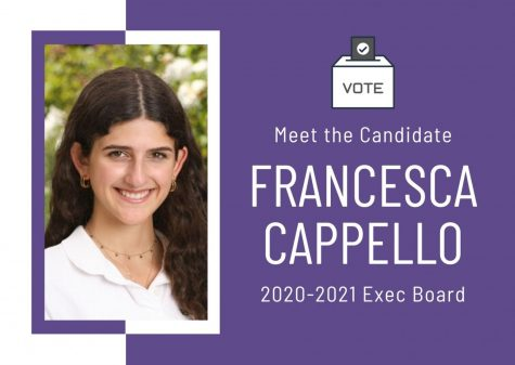 Meet the Candidate: Francesca Cappello