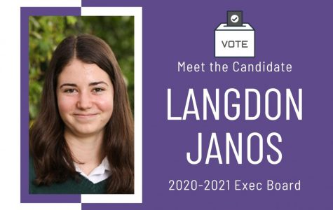 Meet the Candidate: Langdon Janos '22