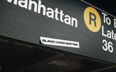 In Manhattan, New York City, lies a Black Lives Matter sticker in the subway for people to see. All photos on Unsplash.com are relicensed for reuse.