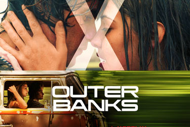 "The promotional image for the Neflix Original series, ""Outer Banks."" The series is a coming of age story following a group of kids dubbed the ""Pogues."""
