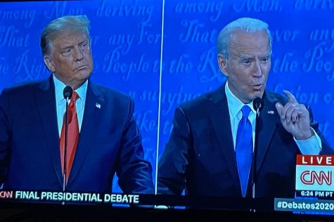 """The second and final presidential debate occurred on Oct. 22 at Belmont University in Nashville, TN.""""I think the final presidential debate was much calmer than the first with fewer interruptions which allowed for the American people to hear actual policy discussion from both Trump and Biden,"""" senior Mackenzie Turner said."""