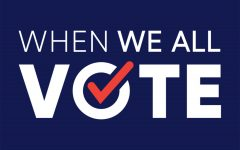 Pictured is the logo of the When We All Vote organization. When We All Vote aims to spread awareness towards the importance of voting and why people should to take action.