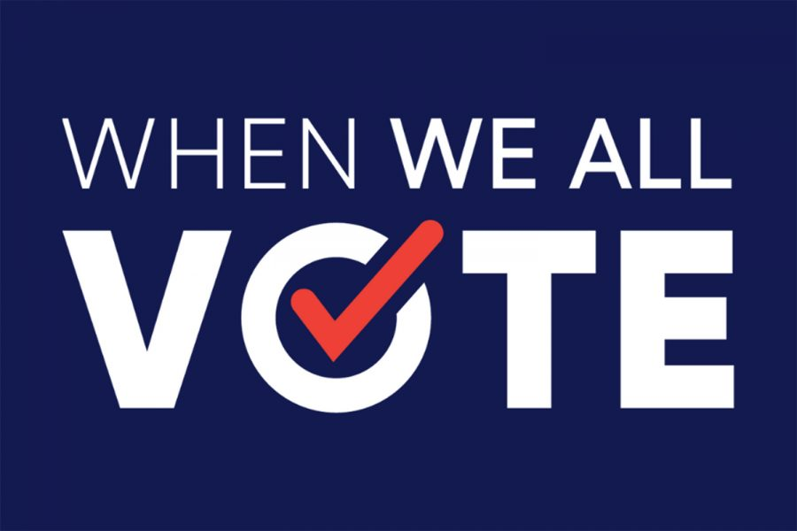 Students take action, spread importance of voting with When We All Vote