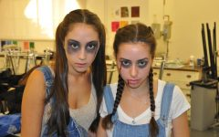 In 2013, Alana O'Mara ('14) and Adriana Bass ('14) dress up for their senior Halloween haunted house. Senior and Student Body President, Francesca Cappello describes that Halloween at Archer is a time in the