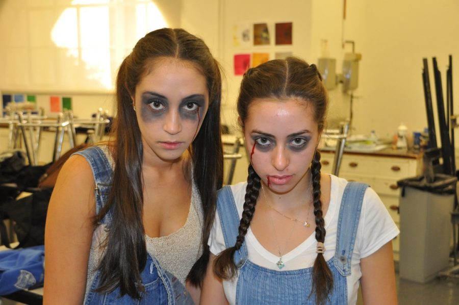 In 2013, Alana OMara (14) and Adriana Bass (14) dress up for their senior Halloween haunted house. Senior and Student Body President, Francesca Cappello describes that Halloween at Archer is a time in the beginning of the year to be spirited and showcase your creativity.