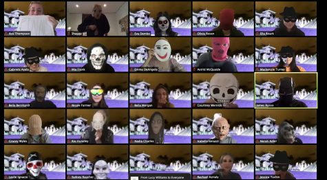 On Friday Oct. 30, the seniors surprised the whole school by wearing  costumes and Zoom filters. They threw a virtual haunted house to encourage spirit and laughter within the Archer community according to Executive Board member Madis Kennedy.