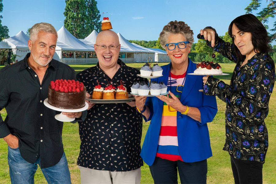 Series+11+of+%22The+Great+British+Bake-Off%22+premiered+on+Sept.+22+after+filming+in+a+production-wide+social+distancing+bubble.+The+show+creates+a+fun%2C+sweet+respite+amidst+a+stressful+year.