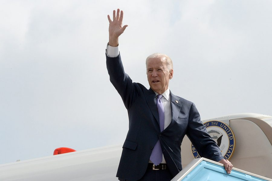 Joe+Biden+visits+Israel+in+March+of+2016.+History+teacher+Kathleen+Niles+reflected+on+the+past+four+years%3A+%E2%80%9CThere+is+a+way+in+which+that+I+think+Americans+have+been+able+to+not+see+some+really+important+elements+of+our+society+because+pre-Trump+society+didn%E2%80%99t+talk+about+things+as+openly.%22