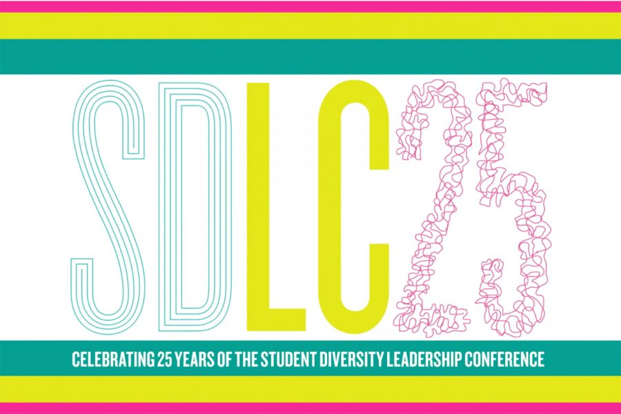 The 2020 Student Diversity Leadership Conference logo celebrated the 25th year of this conference.