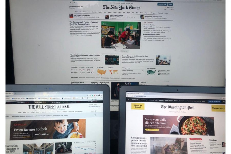 Beyond scholastic journalism: Students reflect on media consumption