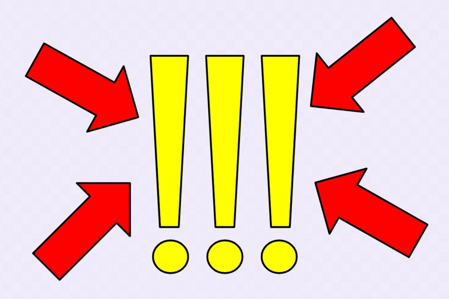 In most forms of writing, exclamation points are used sparingly for emphasis of certain words or phrases. However, exclamation points seem to have taken on another purpose for women when communicating.