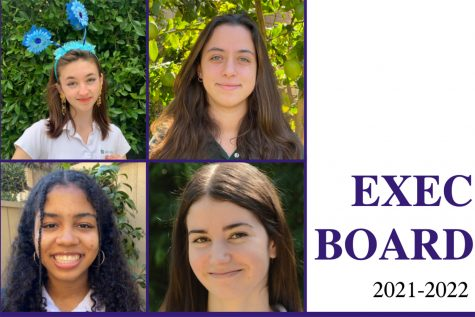 The Executive Board next year will be comprised entirely of seniors. The position of Student Body President goes to Langdon Janos, as she received the most votes from the rising upper schoolers. The Executive Board will be comprised of Nyah Fernandez, Marissa Gendy and Bess Frierson.