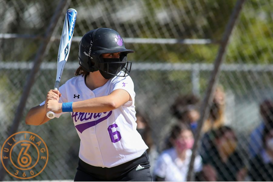 This is an action shot of me at a softball game up to bat against Marymount's softball team. A picture that represents me in a state of confidence and appreciation for the sport I play.