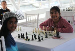 Encouraging Women and girls through chess.