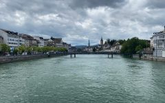 I took this photo while walking on one of the many bridges in Zurich, Switzerland at the beginning of August. I feel that this photo represents the state of peace we feel when embracing the process of reflection.