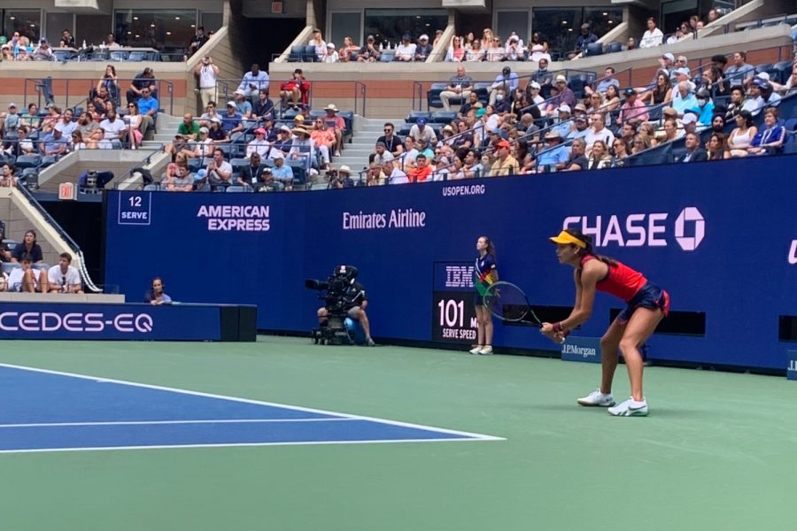 During the 2021 U.S. Open, 18 year old Emma Raducanu from Britain played fiercely.  Through sheer determination and will, she was able to make it to the final and ultimately bring home her first Grand Slam win.